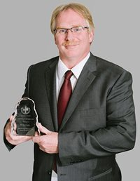 Photo of Council Award Winner, Dr. Mark Spiller