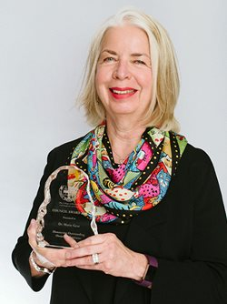 Photo of Council Award winner, Dr. Marie Gear